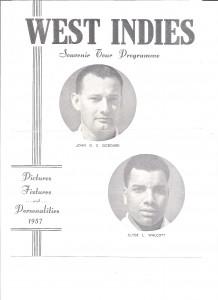 Heritage - W Indies 1957 prog - front