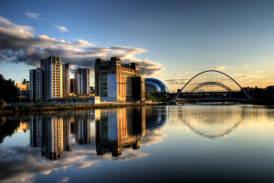 Newcastle_Quayside_with_bridges