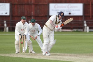Ben Stokes batting for Newcastle during the North East Premier League Premier Division match between Stockton and Newcastle at Grangefield Road, Stockton on Saturday 2nd July 2016 (Photo: Mark Fletcher | Shutter Press)